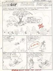 Michael Maltese / Pete Alvarado: Goofy Supergoof: Blank Deposit. Vollständiges Script
