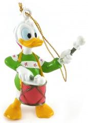 Weihnachtsbaumhänger Donald Duck mit Trommel