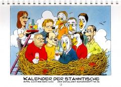 Der Donaldist Sonderheft 56: Kalender der Stammtische April 2009 - März 2010