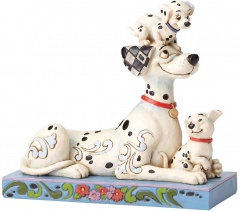 Pongo mit Penny & Rolly 55th Anniversary Piece: Puppy Love