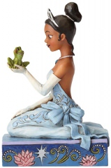 Tiana mit Frosch: Resilient and Romantic