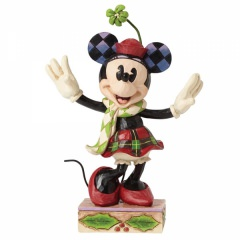 Merry Minnie Mouse Figur