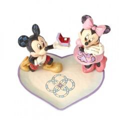 Micky und Minni Maus: Ein magischer Moment (DISNEY TRADITIONS) Figur