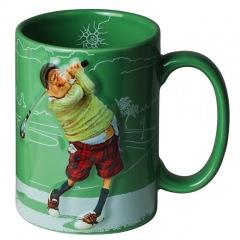Becher The Golfer