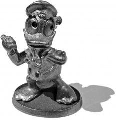 Donald Duck Anhalter (Zinnfigur 5cm)