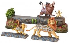 Simba, Timon, & Pumbaa Figur: Sorglose Kameradschaft