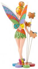 Glöckchen (Tinker Bell) auf Blumen BRITTO