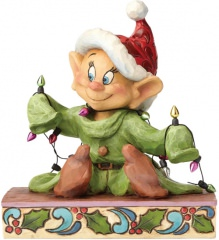 Seppl (Dopey) Figur: Light Up The Holidays