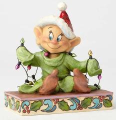 Seppl (Dopey) Figur: Light Up The Holidays