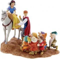 Schneewittchen, Prinz und die Sieben Zwerge: Joyful Farewell