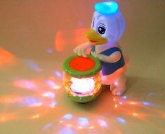 Donald Duck elektrisch mit Trommel und Licht