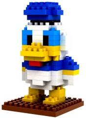 Donald Duck Nanoblock 3D-Puzzle-Figur (100 Teile)