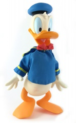 Donald Duck Gliederfigur Vinyl mit Stoff-Matrosenanzug (APPLAUSE)