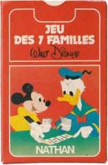 Jeu des 7 Familles - Walt Disney Kartenspiel (frz.)