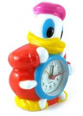 Wecker Donald Duck mit Violettkappe am Steuerruder