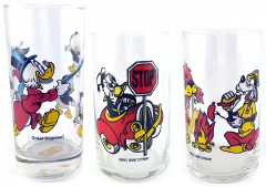 3 Trinkgläser Disney
