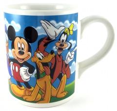 Becher Micky, Donald, Goofy & Pluto Grimassen