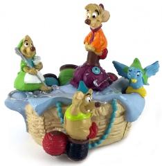 Cinderella: Mäuse im Nähkorb (DISNEY STORE) Kleinfigur 8,5cm