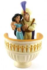 Aladdin & Jasmin auf Balkon (DISNEY STORE) Kleinfigur 12cm
