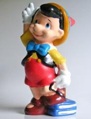 Pinocchio mit Büchern (DISNEY STORE) Kleinfigur 7cm