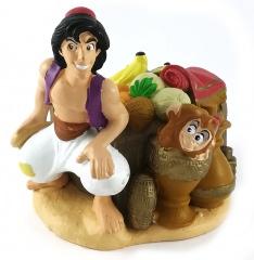 Aladdin & Abu (DISNEY STORE) Kleinfigur 9cm