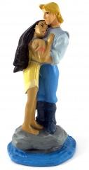 John Smith und Pocahontas (DISNEY STORE) Kleinfigur 10cm