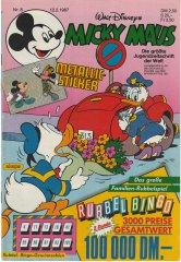 Micky Maus 8/1987 (o. Beilage / Z:1)