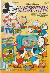 Micky Maus 10/1988 (o. Beilagen / Z:1-)