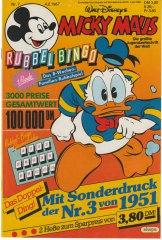 Micky Maus 7/1987 (m. Beilage / Z:0-1)